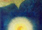 Orel a Slunce ( 2016  olej na plátně 60x80cm v soukr. sbírce)