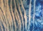 Chaluhy 2014 enkaustika na papíře  30x42cm  2500 Kč