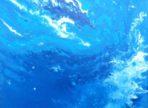 Pěna Oceánů (2015 akryl na plátně 30x40cm v soukr. sb.)