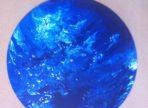 Modrá planeta (akryl na gramodesce, v soukr. sb.)