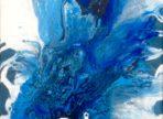 Increasing (2018)  akryl na plátně 25x30cm  1200 Kč
