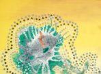 Mnich (2017 akryl na plátně 50x70cm v soukr. sbírce)