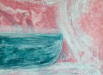 Něžné hýčkání (2017 akryl na plátně 50x50 cm v soukr. sbírce)