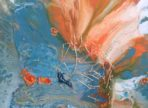 Nový svět (2018 akryl na plátně 40x40cm v sukr. sbírce)