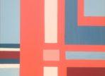 Geometry Dash (2018) akryl na plátně 50x50 cm v soukr. sb.