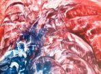 Revoluce Ducha (enakustika zaskleno a zarámováno 42 x 60  7000Kč